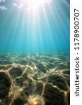 Light Refraction Ocean Floor Under - Fine Art prints