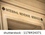 internal revenue service... | Shutterstock . vector #1178924371
