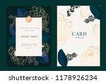 navy and dark green wedding... | Shutterstock .eps vector #1178926234