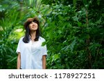 asian woman in smiling happy....   Shutterstock . vector #1178927251