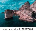 Rocky Shore In Unnatural Colors....