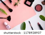 makeup cosmetic products color... | Shutterstock . vector #1178928937