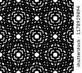 black and white seamless ethnic ... | Shutterstock .eps vector #1178929894