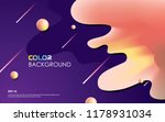 colorful geometric background... | Shutterstock .eps vector #1178931034