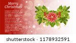 a christmas card with an... | Shutterstock .eps vector #1178932591