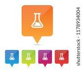 chemistry flask or beaker pins
