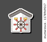 vector illustration with... | Shutterstock .eps vector #1178969017