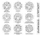 linear banners for mental...   Shutterstock .eps vector #1178976097