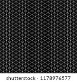 white isometric grid with... | Shutterstock .eps vector #1178976577