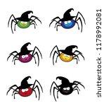 vector set of cute funny multi... | Shutterstock .eps vector #1178992081