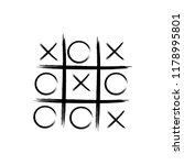 Game Icon. Tic Tac Toe Game...