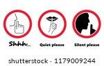 Silhouette Please Be Quiet...