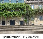 stone stairs on the street and... | Shutterstock . vector #1179035941