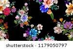 flowers are full of romance the ... | Shutterstock . vector #1179050797