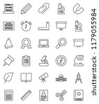 thin line vector icon set  ... | Shutterstock .eps vector #1179055984