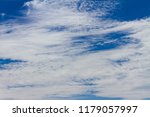 clouds in the blue sky | Shutterstock . vector #1179057997