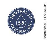 neutral ph icon   Shutterstock .eps vector #1179058084