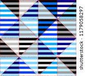 seamless geometric pattern.... | Shutterstock .eps vector #1179058297