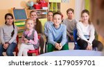 elementary age group of pupil... | Shutterstock . vector #1179059701