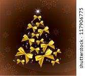 christmas background in eps10... | Shutterstock .eps vector #117906775