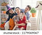 mother  father and their kids... | Shutterstock . vector #1179069067