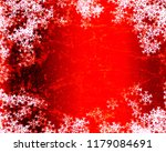 snowflake background design | Shutterstock . vector #1179084691