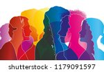 abstract vector group of... | Shutterstock .eps vector #1179091597