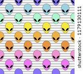 seamless pattern in light gray... | Shutterstock .eps vector #1179130111