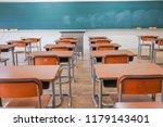 classroom with nobody   Shutterstock . vector #1179143401
