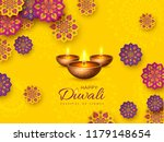 diwali festival holiday design... | Shutterstock .eps vector #1179148654