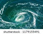 A Powerful Whirlpool Is...