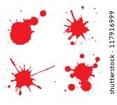 blood vector | Shutterstock .eps vector #117916999