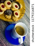coffee and different types of... | Shutterstock . vector #1179216871