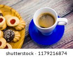 coffee and different types of... | Shutterstock . vector #1179216874