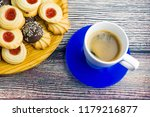 coffee and different types of... | Shutterstock . vector #1179216877