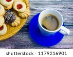 coffee and different types of... | Shutterstock . vector #1179216901