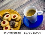 coffee and different types of... | Shutterstock . vector #1179216907