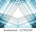 panoramic and perspective wide... | Shutterstock . vector #117923764