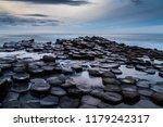 giant's causeway dark sunset   Shutterstock . vector #1179242317