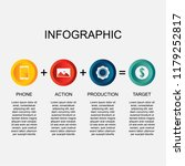 infographic design template.... | Shutterstock .eps vector #1179252817