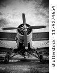 propeller black and white | Shutterstock . vector #1179274654