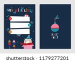 my wish list  page template.... | Shutterstock .eps vector #1179277201