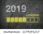 progress bar showing loading of ... | Shutterstock . vector #1179291217