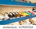 traditional menorca sandals  ... | Shutterstock . vector #1179293764