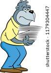 cartoon illustration of a... | Shutterstock . vector #1179304447