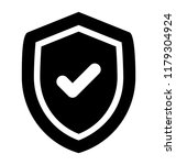 security emblem  protection... | Shutterstock .eps vector #1179304924
