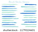 mottled ink brush stroke... | Shutterstock .eps vector #1179324601