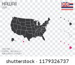 a united states of america... | Shutterstock .eps vector #1179326737