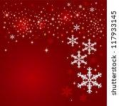 christmas background design | Shutterstock .eps vector #117933145