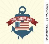 illustration of columbus day... | Shutterstock .eps vector #1179340531